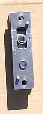 Conrod Jig closed with Blank