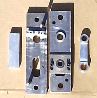 Conrod Jig with Blank and Rod